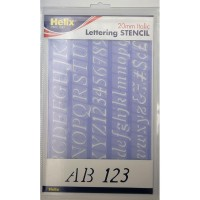 Helix Italic Stencil Set