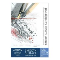 Winsor and Newton A3 smooth gummed 130gsm cartridge paper