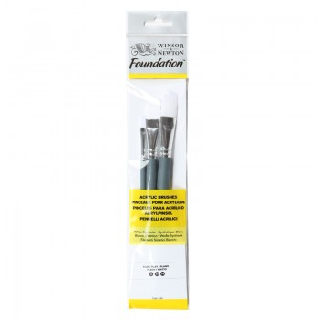 Winsor & Newton Acrylic Foundation Brush set 2