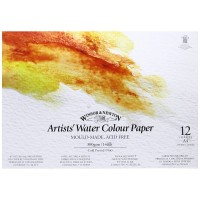 Winsor & Newton A4 Gummed Artists Water Colour Paint Pad