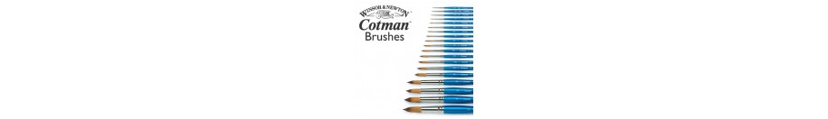 "Water colour ""Cotman"" brush sets"