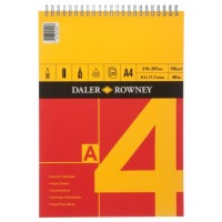 Daler Rowney Series A Spiral Cartridge A4 Pad