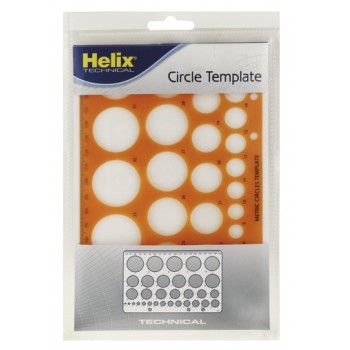 Helix Circle Template H67