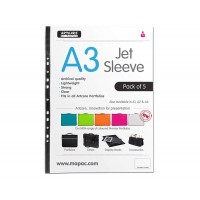A3 size Jet sleeve 30cm x 43cm Pack 5