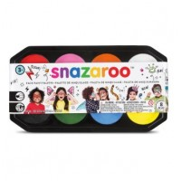 Snazaroo Face Paint Palette - 8 X 18ml