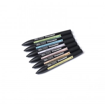 Winsor and Newton ProMarker Pastel Tone set
