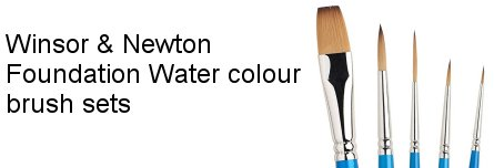 Water colouring banner