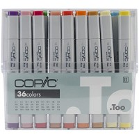 COPIC 36pc  Basic Set