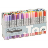 COPIC Set A Ciao Marker (Pack of 72)