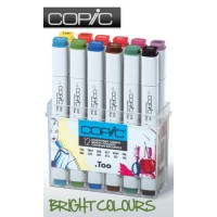 COPIC Marker 12pc  Bright Colours