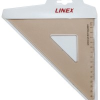 Linex Set Square 45 degree coll-428