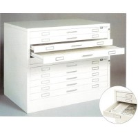 Paris A0 10 Drawer Paris Plan Chest