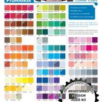 ProMarker 148 Colour Chart