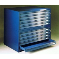 Superdraw A0 4 Drawer 50mm Deep Plan Chest