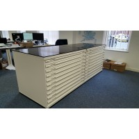Platinum A0 10 Drawer Plan chest