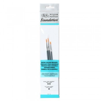 Winsor & Newton Water colour Foundation Brush set 11