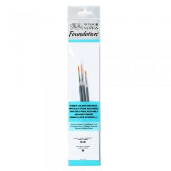 Winsor & Newton Water colour Foundation Brush set 11