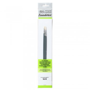 Winsor & Newton Oil Colour Foundation Brush set 22